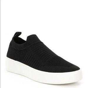 Black and white Beale slip on sneaker